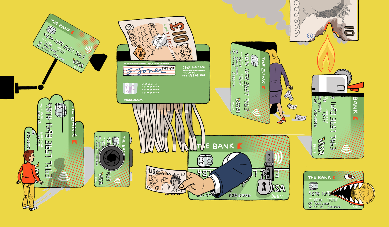 Supermarkets are promoting unscientific anti-cash propaganda. And the banking sector is loving it